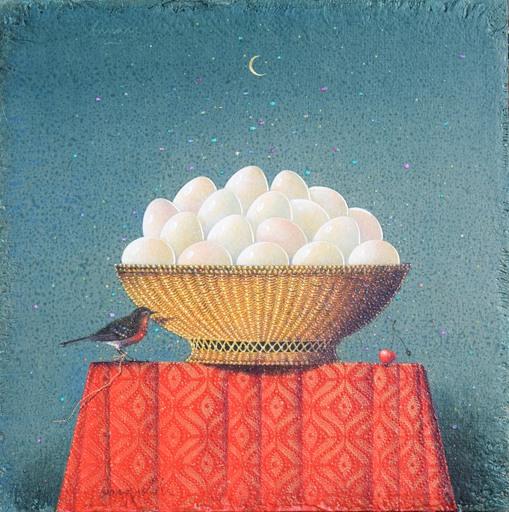 Claudio CARGIOLLI - Pintura - Lunare