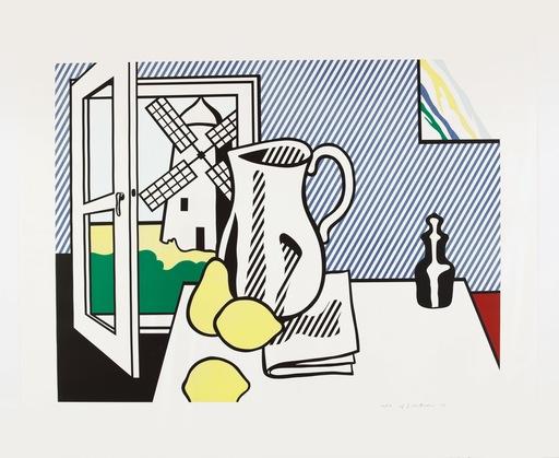 Roy LICHTENSTEIN - Stampa-Multiplo - Still Life with Windmill