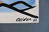 Alexander CALDER - Zeichnung Aquarell - Himself