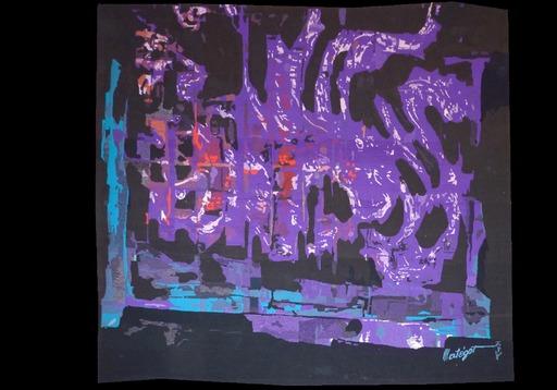 Mathieu MATÉGOT - Tapestry - La flamme