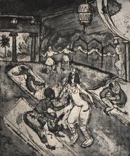 Hermann Max PECHSTEIN - Print-Multiple - Russian Ballet | Russisches Ballett I