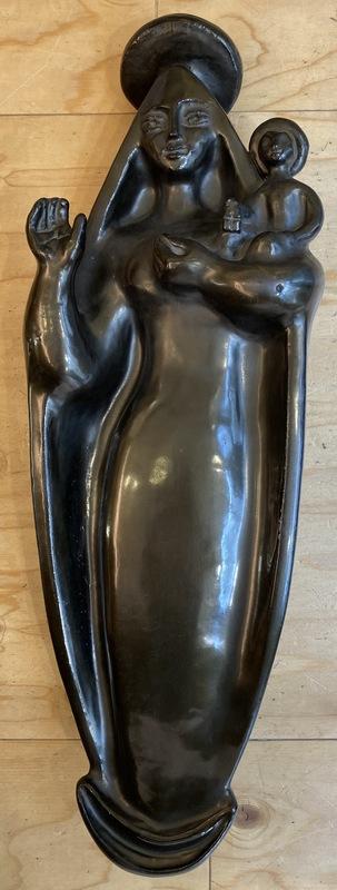 Georges JOUVE - Keramiken - Vierge à l'enfant