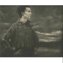 Edward STEICHEN - Fotografia - Portrait of a Young Man