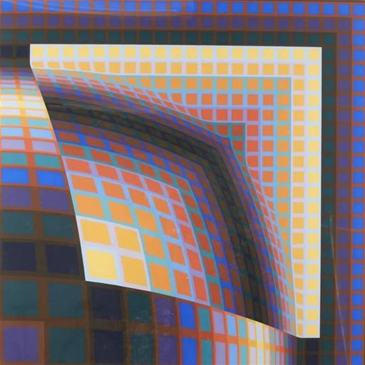 Victor VASARELY - Druckgrafik-Multiple - Titan