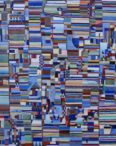 Jérémie IORDANOFF - Gemälde - Peu avant l'aube (Abstract painting)