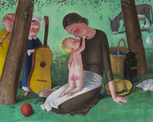 Jan KNAP - Pintura - senza titolo