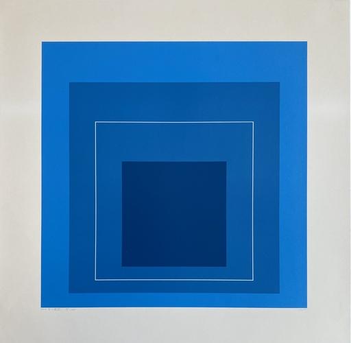 约瑟夫•亚伯斯 - 版画 - White Line Squares (Series II), 172.5