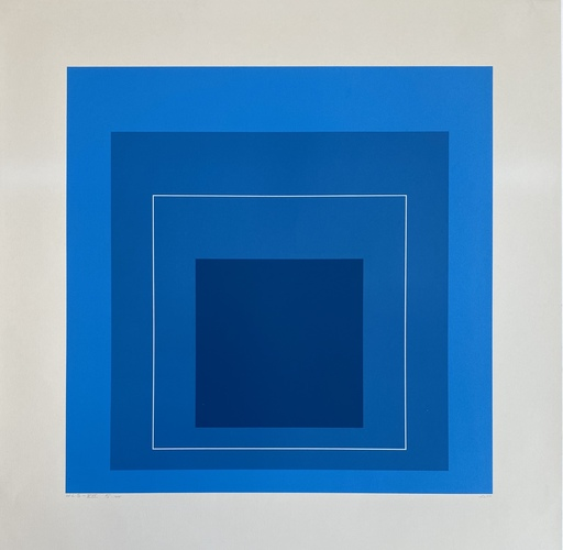 Josef ALBERS - Druckgrafik-Multiple - White Line Squares (Series II), 172.5