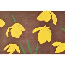 Alex KATZ (1927) - Yellow Flags