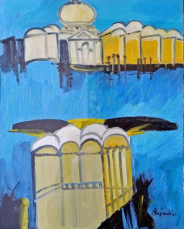 Remo BRINDISI - Painting - Venezia