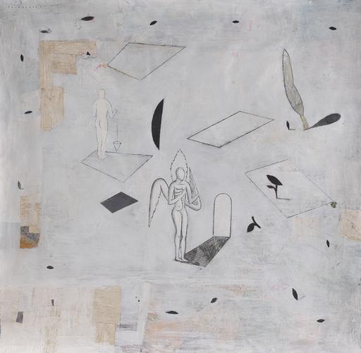 Amar DAWOD - Pintura - The Ta-Sin of the Point II