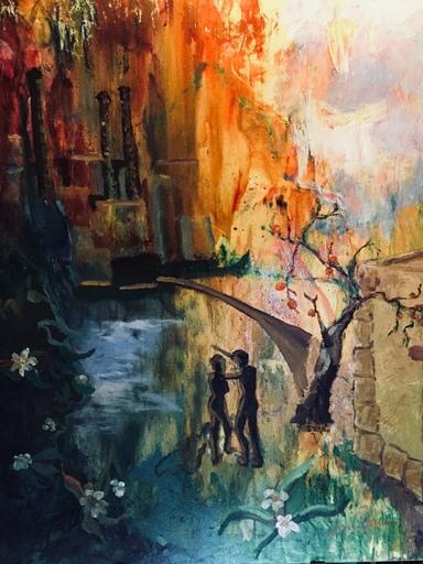 Serge SIEVIC - Peinture - Involution