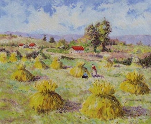 Lelia PISSARRO - Print-Multiple - Summer (from the Four Seasons Set)