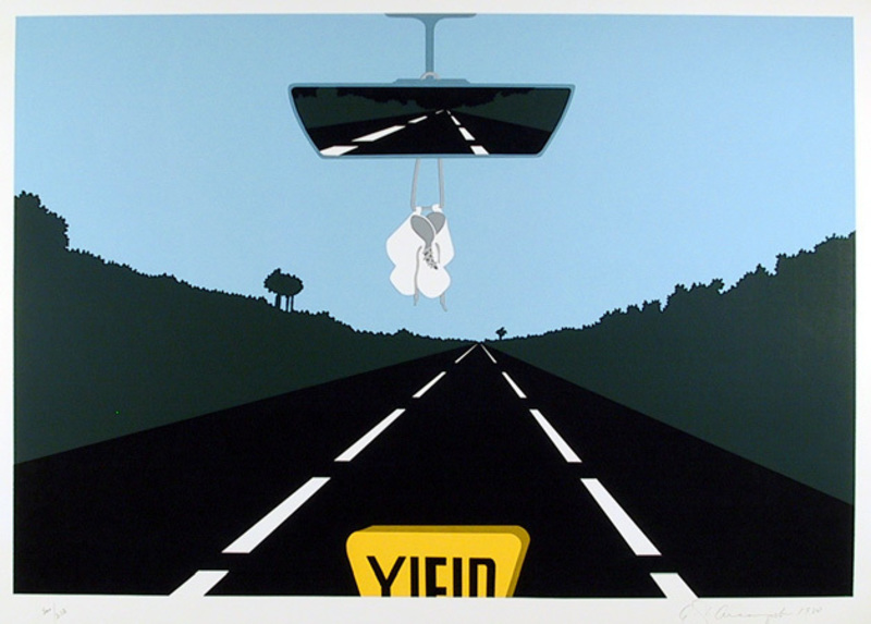 Allan D'ARCANGELO - Stampa Multiplo - Holy Family