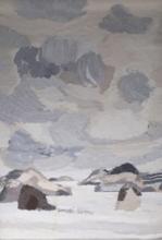 Bernard CATHELIN - Tapiz - La mer intérieure