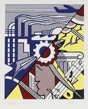 Roy LICHTENSTEIN - Grabado - Industry and the Arts II (Corlett 86)