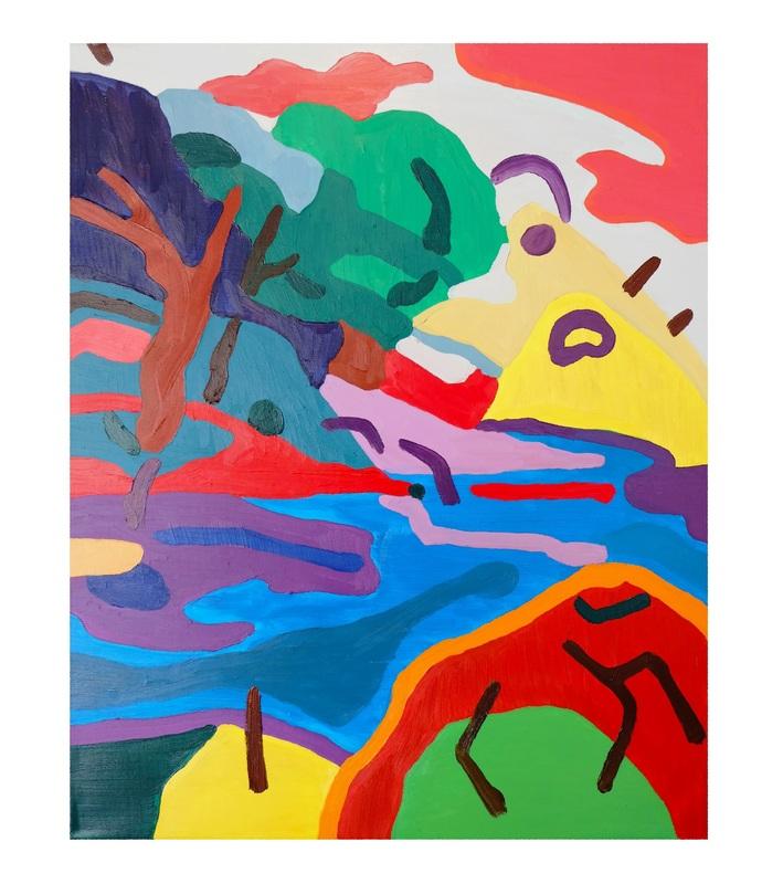 Sébastien COUEFFIC - Peinture - Les paysages suspendus 6