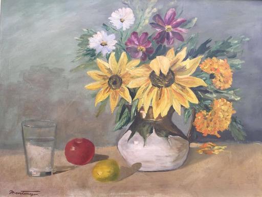 Roberto MONTENEGRO - Pittura - Bodegon
