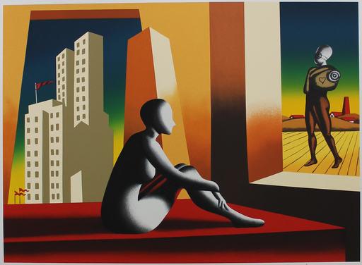 Mark KOSTABI - Stampa-Multiplo - Window of opportunity