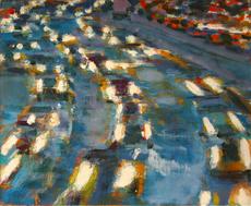 David KAPP - Painting - Rearview