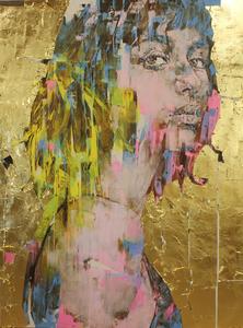 Marco GRASSI - Painting - Supergolden BRA