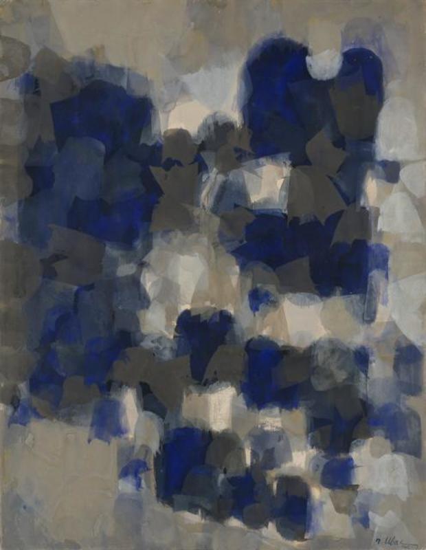 Raoul UBAC - Drawing-Watercolor - Fin Mars