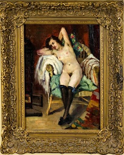 Eustache Grégoire STOENESCO - Gemälde - NUD