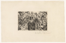 James ENSOR - Print-Multiple - Masques intrigués