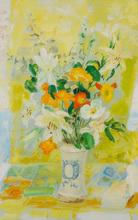 LE PHO - Painting - Fleurs