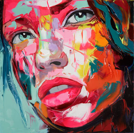 Françoise NIELLY - Painting - Mila