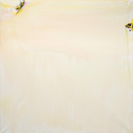 Olivier DEBRÉ - Painting - Ocre clair et rose