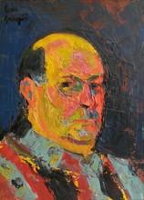 Pierre AMBROGIANI - Peinture - Autoportrait