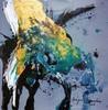Mégui SANCHEZ - Painting - ALX6