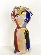 Walter FURLAN - Sculpture-Volume - Tete d' Homme (après Picasso)