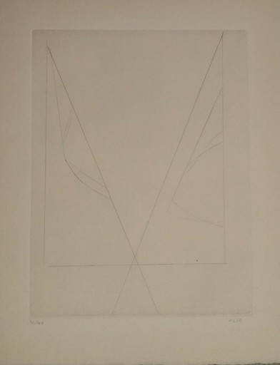 Geneviève ASSE - Druckgrafik-Multiple - gravure Reims