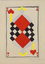 Sonia DELAUNAY-TERK (1885-1979) - Projet pour un jeu de carte