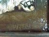 Charles François PÉCRUS - Pintura - Sitzende Schönheit mit Hund