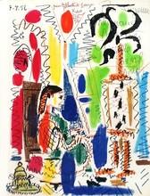 Pablo PICASSO (1881-1973) - L'atelier de Cannes (1956)