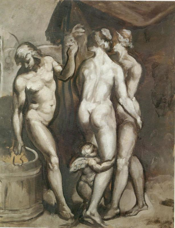 LETTRES INTIMES À MA LECTORATE - L'OUTRE-RÉEL IV //1 Emile-Henri-BERNARD-Trois-Personagges-et-l-Amour-1526534889