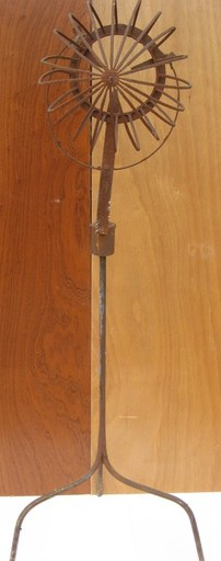 Albert CHUBAC - Sculpture-Volume - TÊTE AU VENT