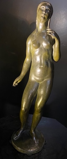 Ladislav BENES - Escultura - Jeune femme nue