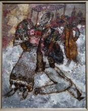 Théo TOBIASSE - Painting - Ballade des Vagabonds