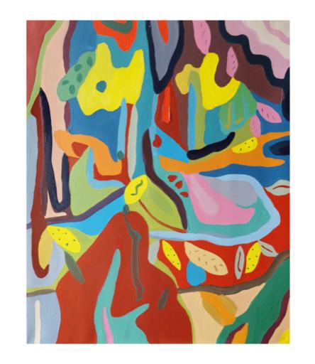 Sébastien COUEFFIC - Peinture - Interlude Hortus 3