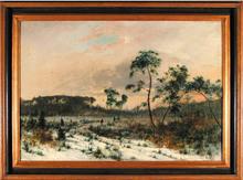 Wiktor Adam MALINOVSKI - Painting - On the verge of forest