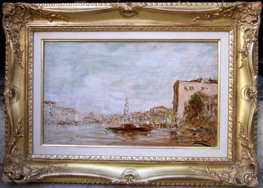 Félix ZIEM - Peinture - Venise