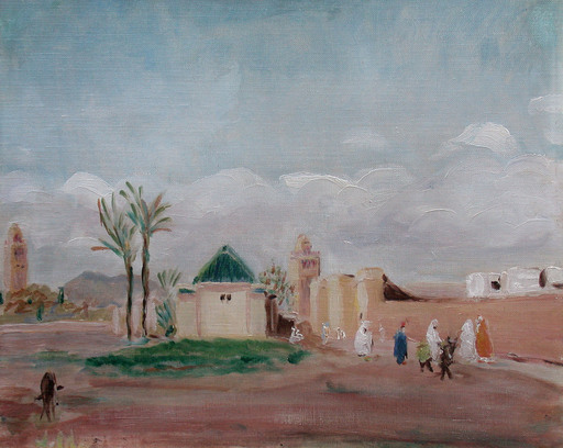 Lucien MAINSSIEUX - Pintura - Marrakech