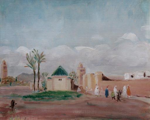 Lucien MAINSSIEUX - Painting - Marrakech