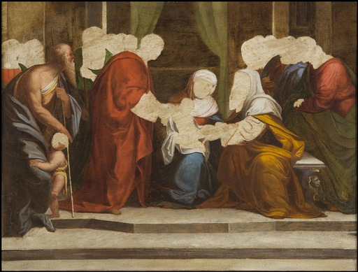 Benvenuto TISI - Painting - The Circumcision