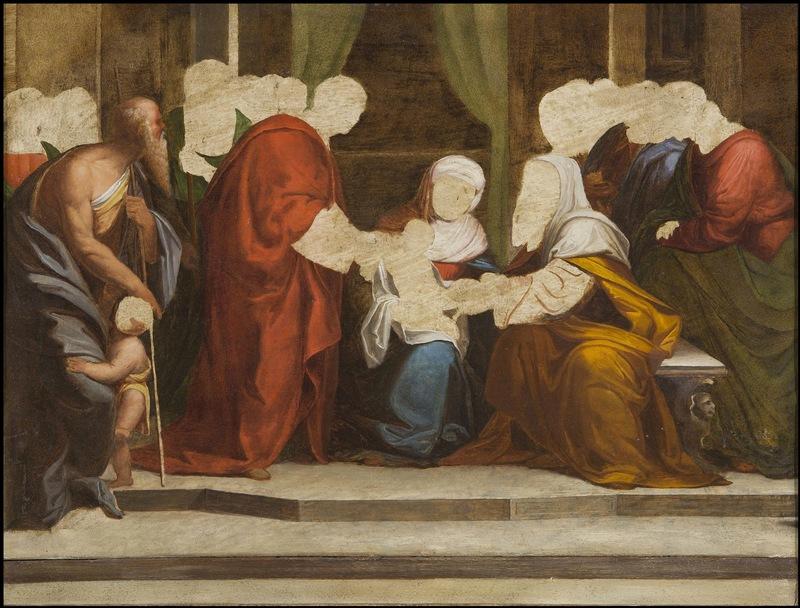 Benvenuto TISI - Gemälde - The Circumcision