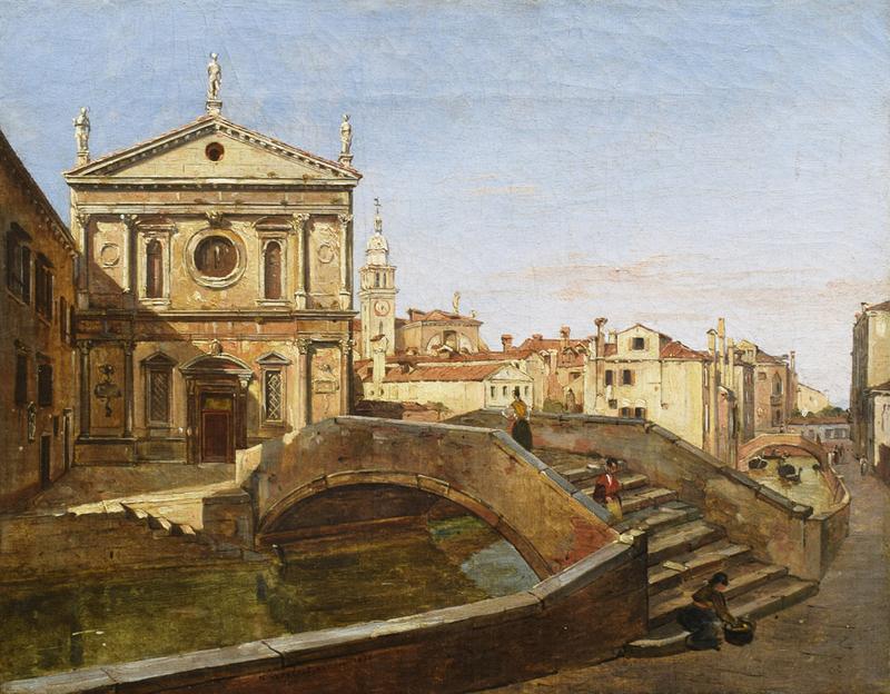 Frans VERVLOET - Pintura - San Sebastiano, Venice
